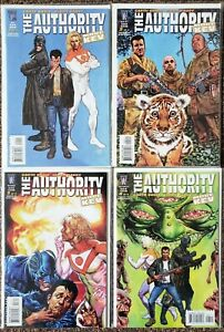 The-Authority-More-Kev-1-2-3-4-Wildstorm-Complete-Set-Series-Run-Lot-1-4-VF-NM