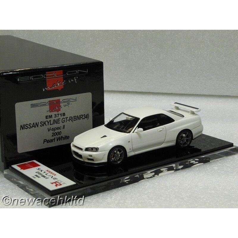Nissan Skyline GT-R (BNR34) V-SPEC II 2000 Maquillaje Modelo 1 43  EM371B