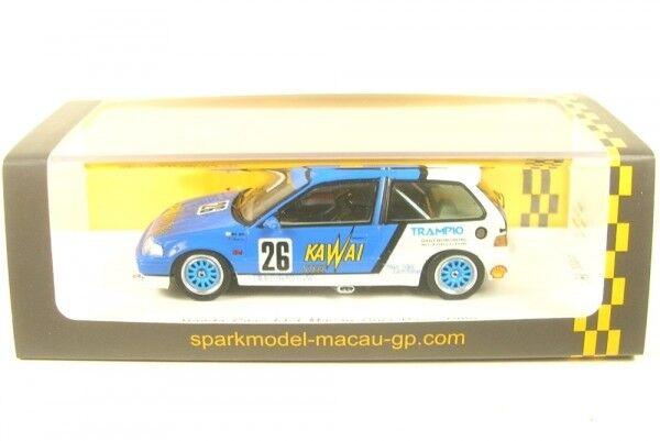 Honda Civic ef3 No. 26 Macau  Guia Race 1989 (Kazuo Shimizu)  qualité fantastique