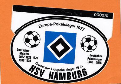 Fan Big Card Edition F61 Deutscher Fußball Meister 1979 Hamburger SV