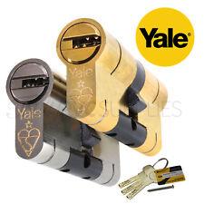 YALE uPVC Door Lock Superior Euro Cylinder Anti Snap Bump High Security Barrel