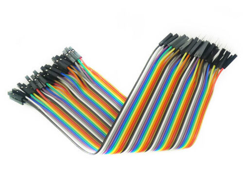 40P 10// 20// 30CM Dupont Cable Wire Female to Female Male to Female Male to Male