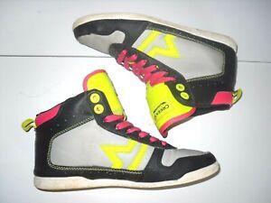 Détails sur basket taille pointure 36 chaussure montante de marque CREEKs mode ado fille