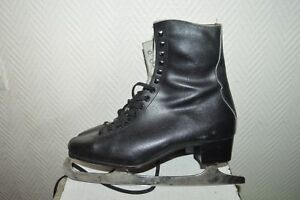 Bien Informé Patin A Glace Patinage Nao By Alviera Leather Ice Skate Taille 42 Cuir Vintage Calcul Minutieux Et BudgéTisation Stricte