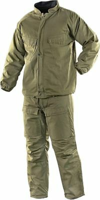 NEW USGI NBC Hazmat Chemical SUIT Military OD Green 27-34