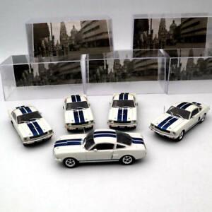 5PCS-de-Altaya-1-43-Ford-Mustang-Shelby-Gt-350H-1965-Modelos-Diecast-Juguetes-Coche-IXO