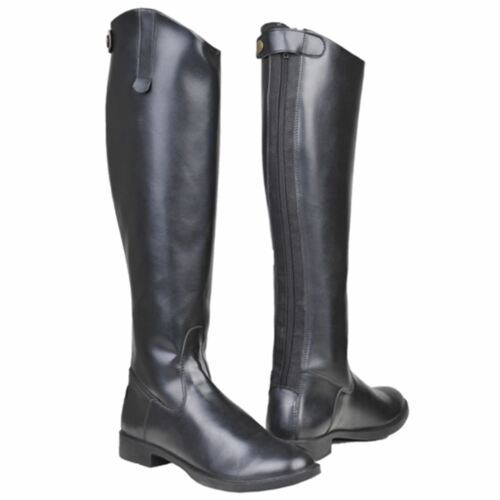 HKM Ladies New General Felxible Short//Wide Synthetic Leather Horse Riding Boots