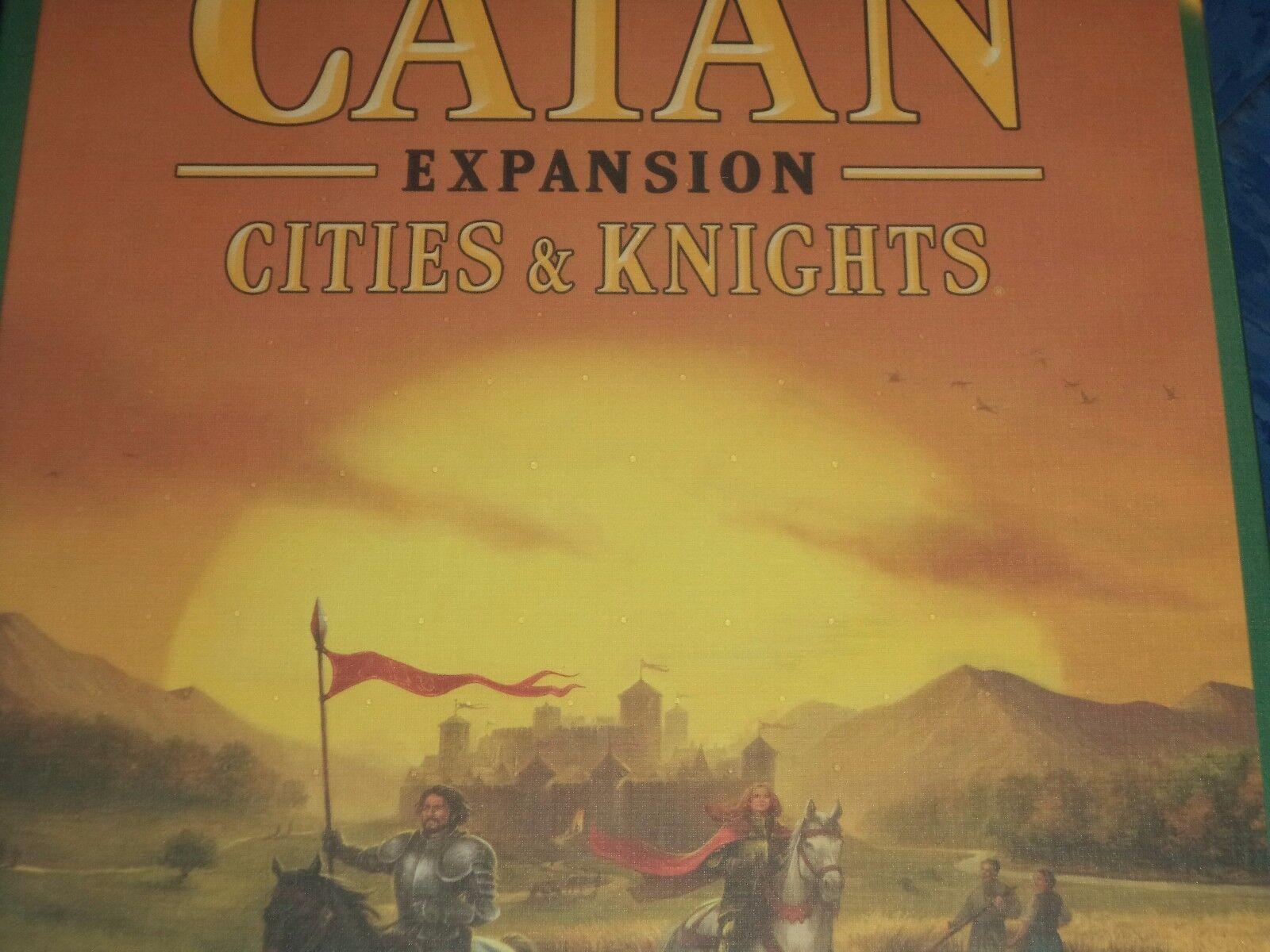 Catan Villes et Chevaliers Extension-Jeu de plateau NOUVEAU  Settlers of Catan &