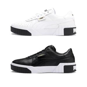Puma-Sneakers-Cali-donna-Binaco-nero-stringata-bassa-limited-stile-casual-retro