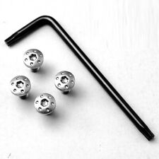 Custom Cnc Stainless Steel Screws With Tool Screw Set For P4 1911 Grips Model