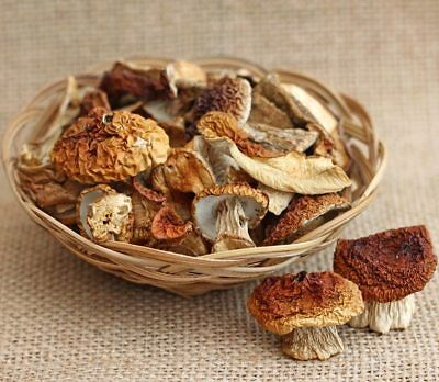 White Cep Boletus Edulis dried mushrooms 3.5 oz Ecologically Tasty for cooking