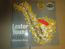 33RPM Realm Savoy RM 132 Mono Lester Young Memorial Volume 1 high grade E