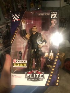 WWE Mattel Matt Hardy ECW Ringside Elite Series figure loose