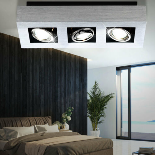 LED Design Wand Spot Decken Lampe Aufbau Strahler beweglich Ess Big Light