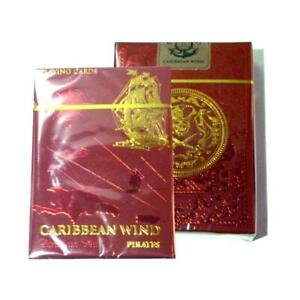 Caribbean-Wind-Playing-Cards-Pirate-Edition-Red-Deck-Metallic-Ink