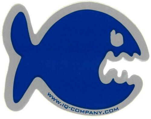 iQ Company Blau-Fisch Aufkleber Tiger-Fisch Kuh-Fisch