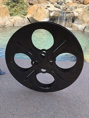 Rustic Finish Film Reel Wall Decor 2 Piece Set For Home Theater And Media Ebay