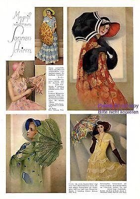 Ombrellone Mode 1931 Xl Pagina Con 5 Fotoabb. Melly Berehinak Grete Pietra D'onore-mostra Il Titolo Originale Prestazioni Affidabili