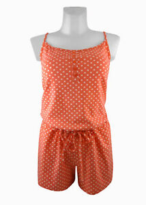 neueste günstiger Preis zum halben Preis Tchibo TCM Damen Schlafanzug Kurz Jumpsuit Pyjama Overall ...