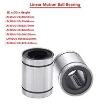 Lm25303540506080uu Linear Motion Ball Bearing Machinery Slide Bushing