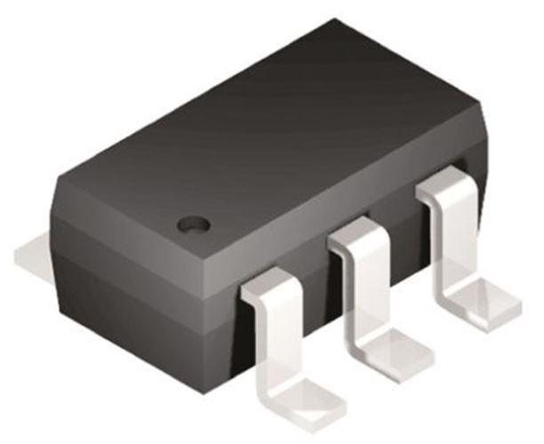 Microchip 93LC46BT-I/OT Serial EEPROM Memory, 1kbit, 2.5 â?? 5.5 V 6-Pin SOT-23
