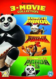 Kung Fu Panda Trilogy 1 3 Dvd Collection Part1 2 3 Movie Film Original Uk Releas Ebay