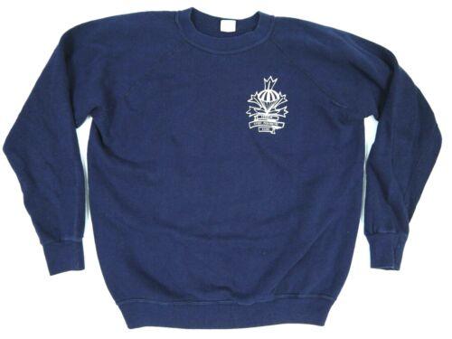 VINTAGE 70s CHAMPION BLUE BAR SWEATSHIRT PIT GUSSE