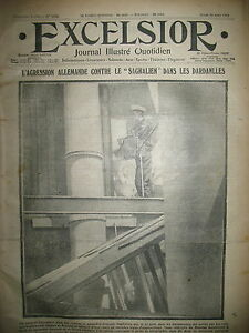 WW1-N-1374-DARDANELLES-PAQUEBOT-SAGHALIEN-PAPE-PIE-X-JOURNAL-EXCELSIOR-1914