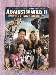 Against the Wild II: Survive the Serengeti (DVD, 2016)