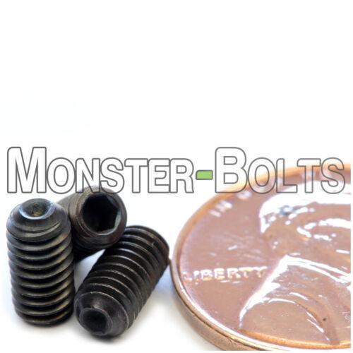 Allen key M4 Set Screws with Cup Point Drive 45H Alloy Steel DIN 916 Socket