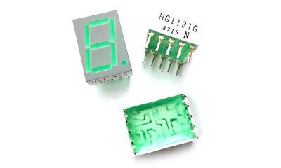MDE 2581-V GREEN 7-segment LED Display Common Anode 1 pcs