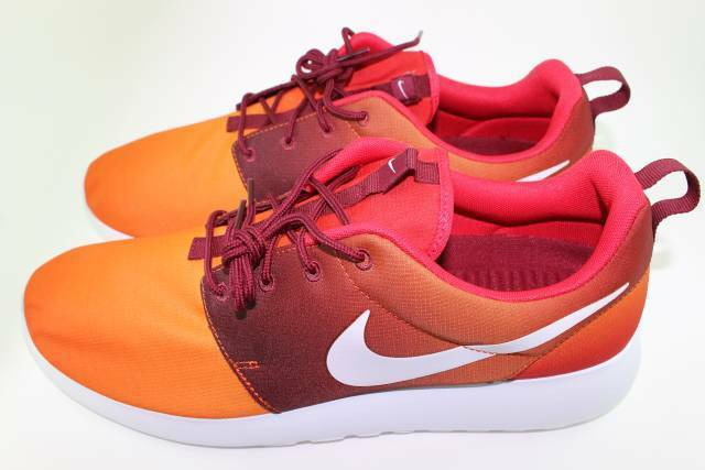 NIKE ROSHE ONE NEW PRINT TEAM ORANGE homme Taille: 13.0 NEW ONE STYLISH RARE 17a92e