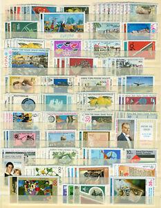 Turkisch-Zypern-Sammlung-1974-2000-komplet-postfrisch-MNH-3-Kleinbogen