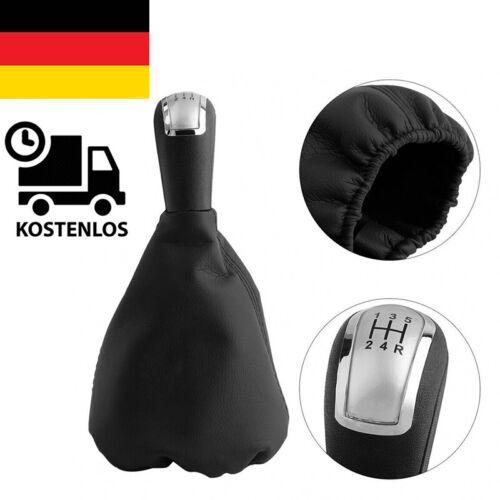 Für Mercedes A Klasse W168 Schaltsack Leder Naht 5 Gang Schaltknauf Schalthebel