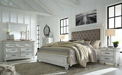 Buy Ashley Furniture Baystorm Canopy Bedroom Set In Grey B221 61 Set