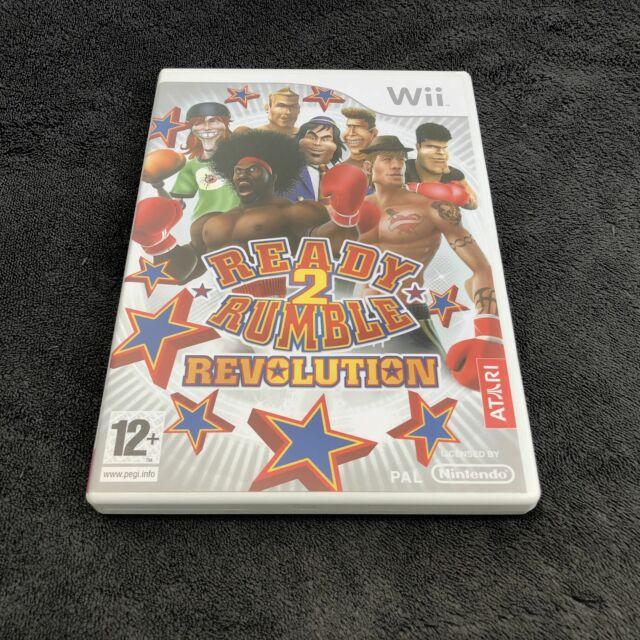 Nintendo Wii Ready 2 Rumble Revolution FRA Quasi neuf