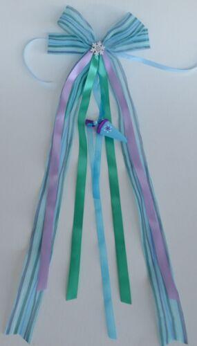 Elsa Zuckertüten Frozen Fever Schultütenschleife blau Einschulung lila