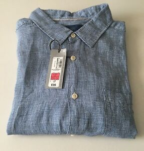 a99b61dadb875a Image is loading M-amp-S-COLLECTION-Easy-Care-Pure-Linen-