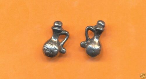100 wholesale pewter potion bottle charms 1199