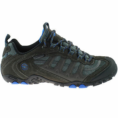 MENS HI-TEC WATERPROOF HIKING SHOES SIZE UK 7 - 13 TRAINERS CHARCOAL PENRITH LOW