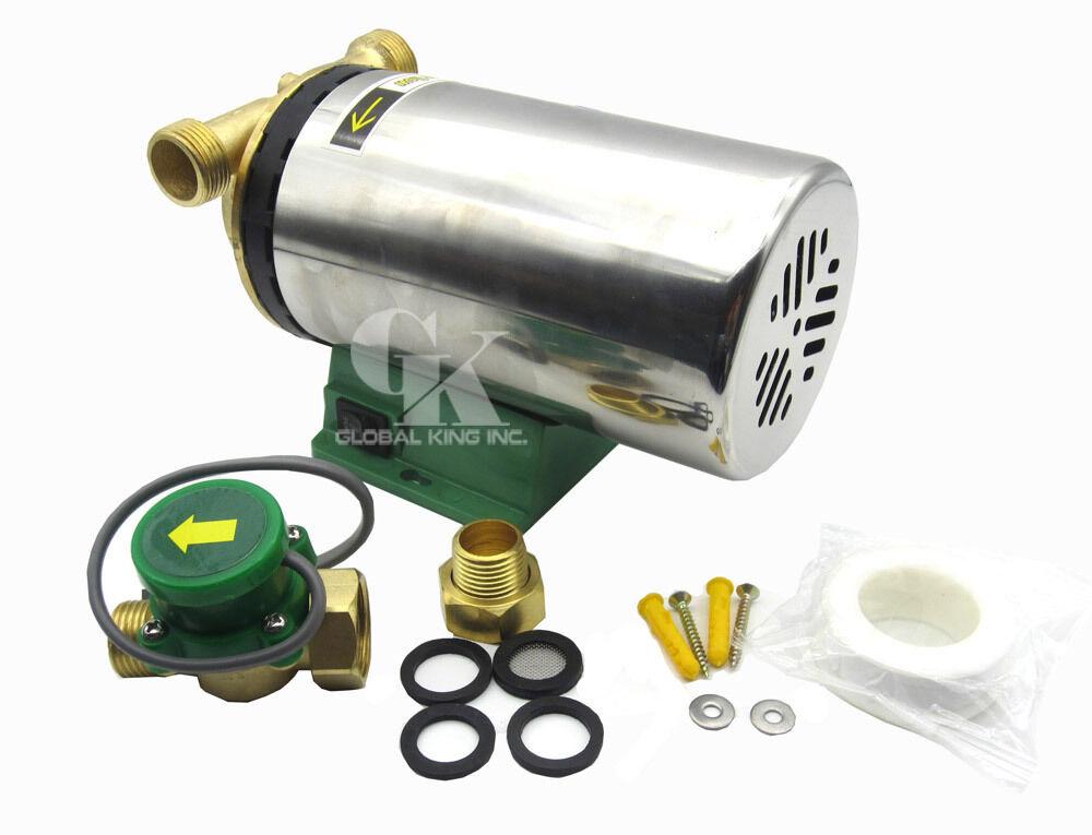 110 220V Booster Pump 90-120W Boost Pressure and Circulate Water Pump