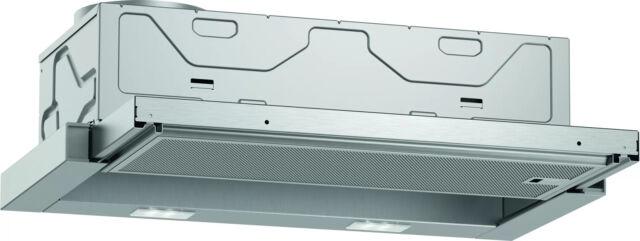 NEFF D46BR12X6 Flachschirmhaube Silbermetallic Abluft / Umluft 60 cm