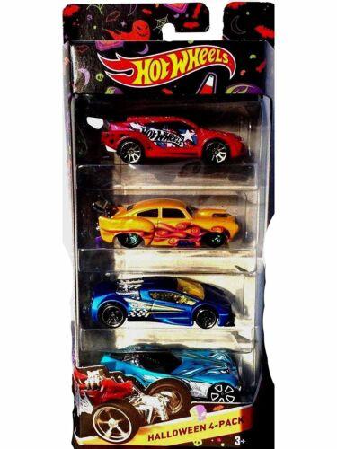 Hot Wheels 2015 Halloween Die-Cast Cars 4 Pack NEW Sealed