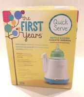 The First Years Quick Serve Bottle Warmer For Warming Baby Bottles