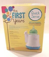 The First Years Quick Serve Bottle Warmer for Warming Baby Bottles NEW