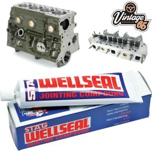 Classic-Car-amp-Bike-Hermetite-Stag-Wellseal-Gasket-Seal-Jointing-Compound-100ml