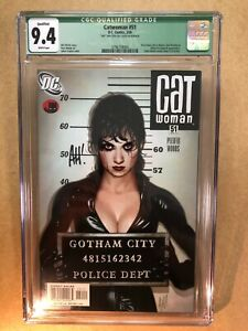 Catwoman #51 ADAM HUGHES AH! Cover Signed! Lost Numbers Gotham Sirens CGC 9.4 WP