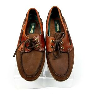 8367bd91fb6 Men s Dexter Boat Deck Casual Shoes Brown Leather Made In USA Size ...