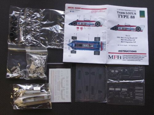Type 367 a 88 Hiro Model Ver Matière K Factory Multi 1981 Lotus 1 Japon Kit 43 wXF6qY8
