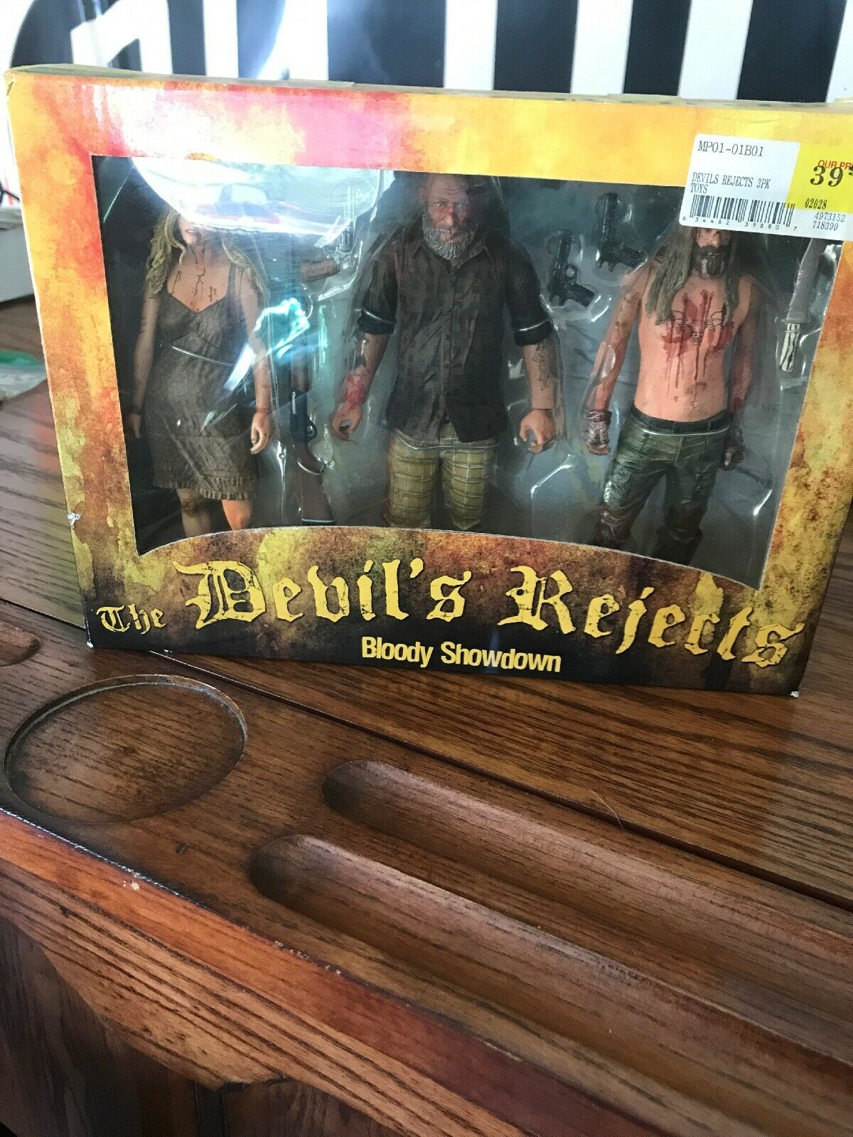 NECA REEL TOYS 2005 The Devil's Rejects Bloody Showdown 3 Pack Box Set